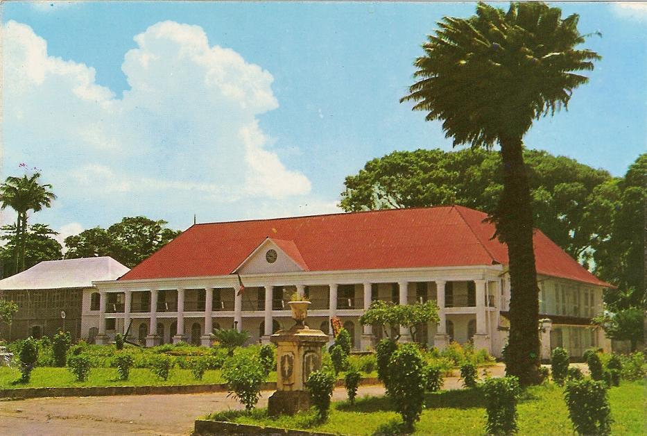 LA PREFECTURE (ancien palais des gouverneurs)