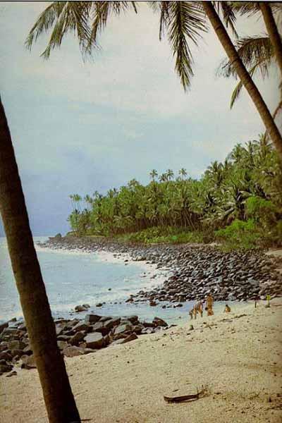 ILES DU SALUT plage île St Joseph